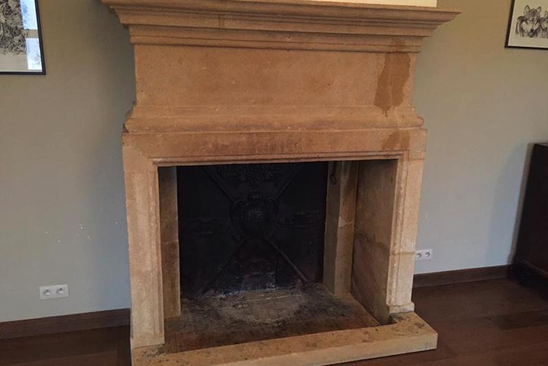 Erbat Rénovation d'une cheminee